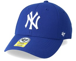 New York Yankees Youth Mvp Blue Adjustable - 47 Brand
