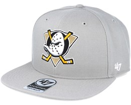 Anaheim Ducks Sure Shot Captain Beige Snapback - 47 Brand