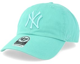 New York Yankees Clean Up Tiffany Blue Adjustable - 47 Brand