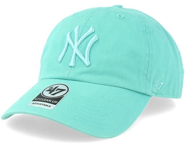 dd4c4e789 New York Yankees Clean Up Tiffany Blue Adjustable - 47 Brand - Bearded Man  Apparel - Hatstore.es