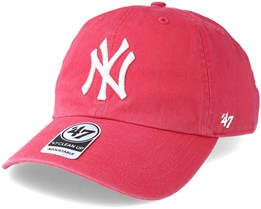 New York Yankees Clean Up Berry Adjustable - 47 Brand