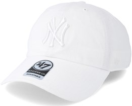New York Yankees Clean Up White Adjustable - 47 Brand