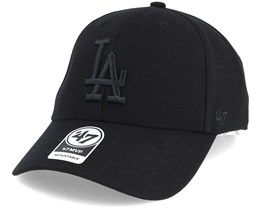 Los Angeles Dodgers Mvp Black/Black Adjustable - 47 Brand
