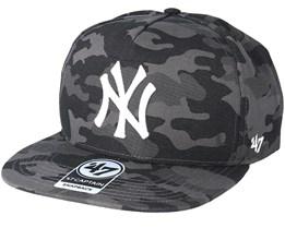 Los Angeles Dodgers Tonal Camo Charcoal Snapback - 47 Brand