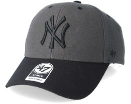 New York Yankees Audible Two Tone Charcoal/Black Adjustable - 47 Brand