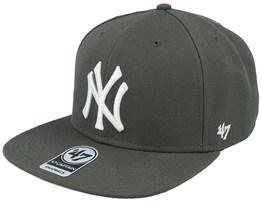 New York Yankees No Shot 47 Captain Charcoal Snapback - 47 Brand
