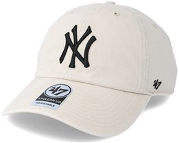 New York Yankees Clean Up Natural Adjustable - 47 Brand