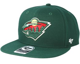 Minnesota Wild Sure Shot Dark Green Snapback - 47 Brand