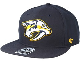Nashville Predators Sure Shot Navy Snapback - 47 Brand