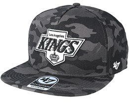 Los Angeles Kings Tonal Camo Charcoal Snapback - 47 Brand