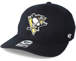 Pittsburgh Penguins Contender Black Flexfit - 47 Brand