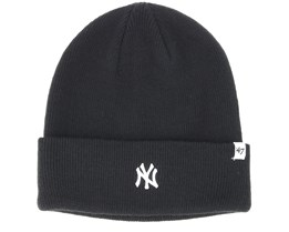 New York Yankees Centerfield Black Beanie - 47 Brand