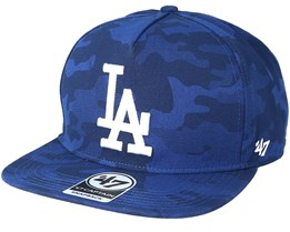 Los Angeles Dodgers Vintage Tonal Camo Royal Snapback - 47 Brand