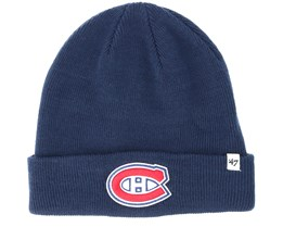 Montreal Canadiens Raised Knit Light Navy Cuff - 47 Brand