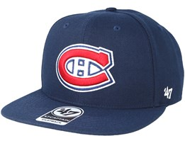 Montreal Canadiens Sure Shot Light Navy Snapback - 47 Brand