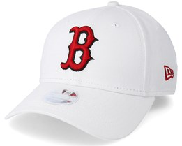 Boston Red Sox Women 9 Forty White Adjustable - New Era