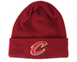 Cleveland Cavaliers Essential Red Knit Cuff - New Era
