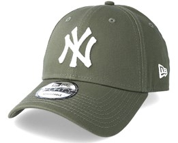 New York Yankees 9Forty League Essential Olive Adjustable - New Era