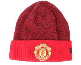 Manchester United Rob Knit Scarlett Cuff - New Era