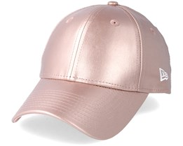 Womens Metallic Pu 940 Pink Gold Adjustable - New Era