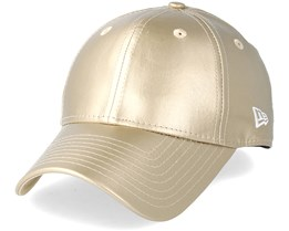 Womens Metallic Pu 940 Gold Adjustable - New Era