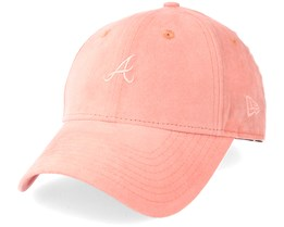 Atlanta Braves Women Felt 940 Pink Adjustable - New Era