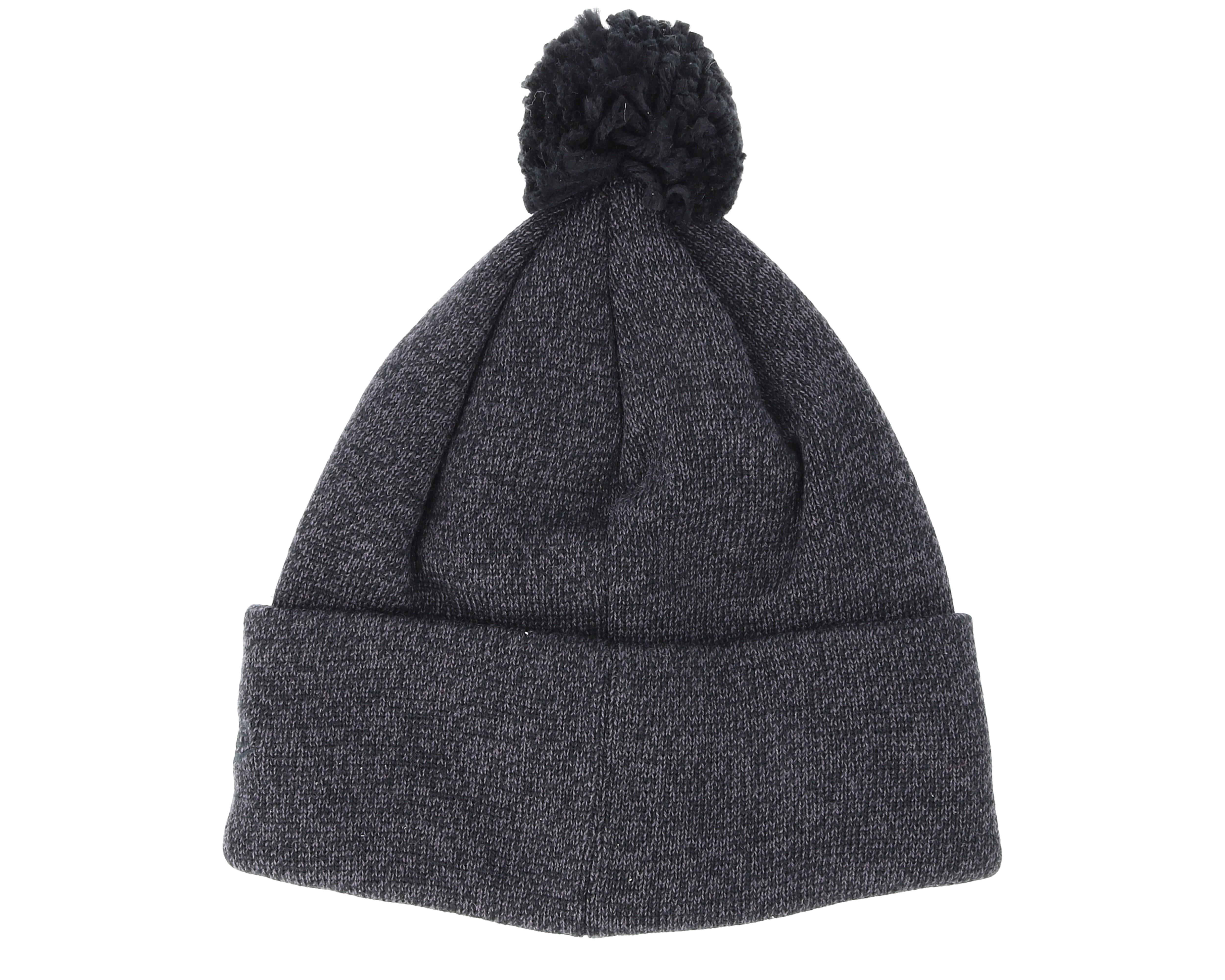 los angeles dodgers womens essential bobble knit black. Black Bedroom Furniture Sets. Home Design Ideas