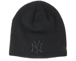 New York Yankees Seasonal Skull Boston Black Beanie - New Era