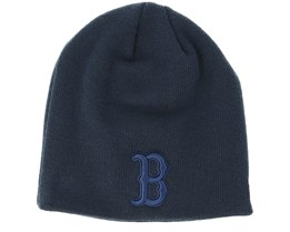 Boston Red Sox Seasonal Skull Boston Navy Beanie - New Era