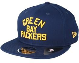 Green Bay Packers Historic 950 Navy Snapback - New Era