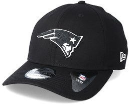 New England Patriots Monochrome 3930 Black Flexfit - New Era