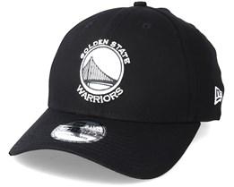 Golden State Warriors Monochrome 3930 Black Flexfit - New Era