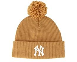 New York Yankees Felt Bobble Rust Pom - New Era