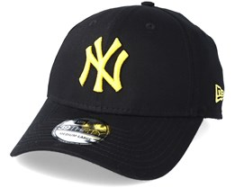 New York Yankees League Essential 39Thirty Black/Yellow Flexfit - New Era