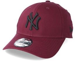 New York Yankees League Essential 39Thirty Maroon/Black Flexfit - New Era