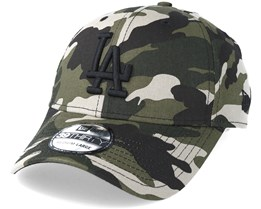Los Angeles Dodgers League Essential 39Thirty Camo/Black Flexfit - New Era