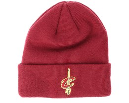 Kids Cleveland Cavaliers Junior Essential Maroon Cuff - New Era
