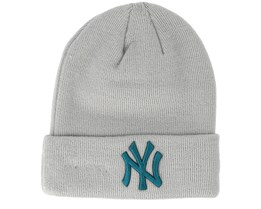 Kids New York Yankees Junior Seasonal Grey Cuff - New Era