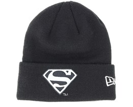 Kids Junior Reflect Superman Knit Black Cuff - New Era