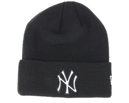 New York Yankees Junior Reflect Knit Black Cuff - New Era