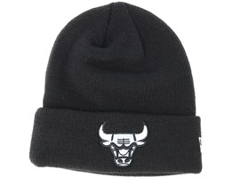 Chicago Bulls Junior Reflect Knit Black Cuff - New Era