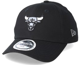 Chicago Bulls Junior Reflect 940 Black Adjustable - New Era