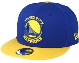 Golden State Warriors Jr Blue/Yellow Snapback - New Era