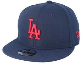 Los Angeles Dodgers Jr League Essential 940 Navy Snapback - New Era