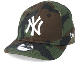 New York Yankees Inf League Essential 940 Camo Adjustable - New Era