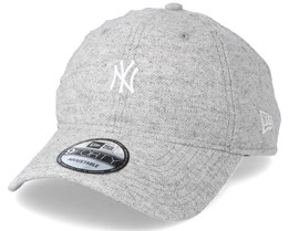 New York Yankees Herringbone 940 Grey Adjustable - New Era