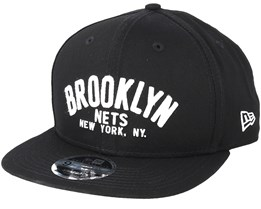 Brooklyn Nets Felt Script 950 Black Snapback - New Era