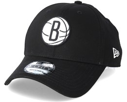 Brooklyn Nets Felt Infill 940 Black Adjustable - New Era
