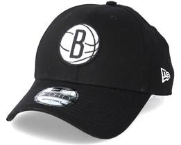 Brooklyn Nets Felt Infill 940 Black Adjustable - New Era