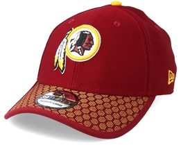 Wasington Redskins Sideline 39Thirty Red Flexfit - New Era